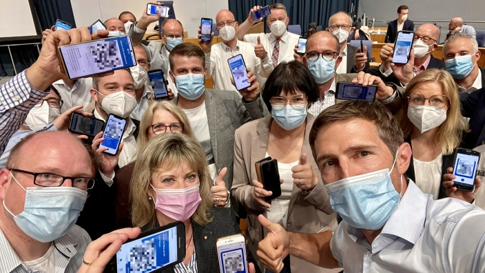 Impfen Aktion CDU Fraktion RLP